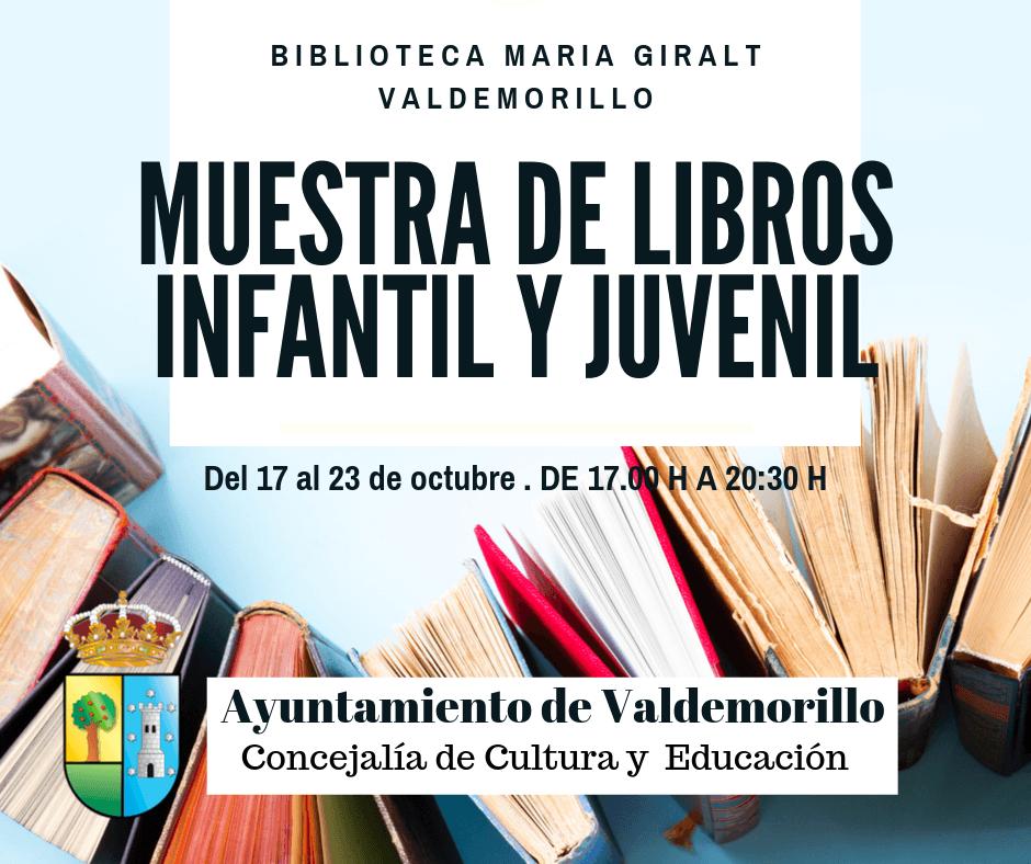 La Biblioteca Municipal acoge hasta este 23 de octubre Muestra del Libro Infantil y Juvenil