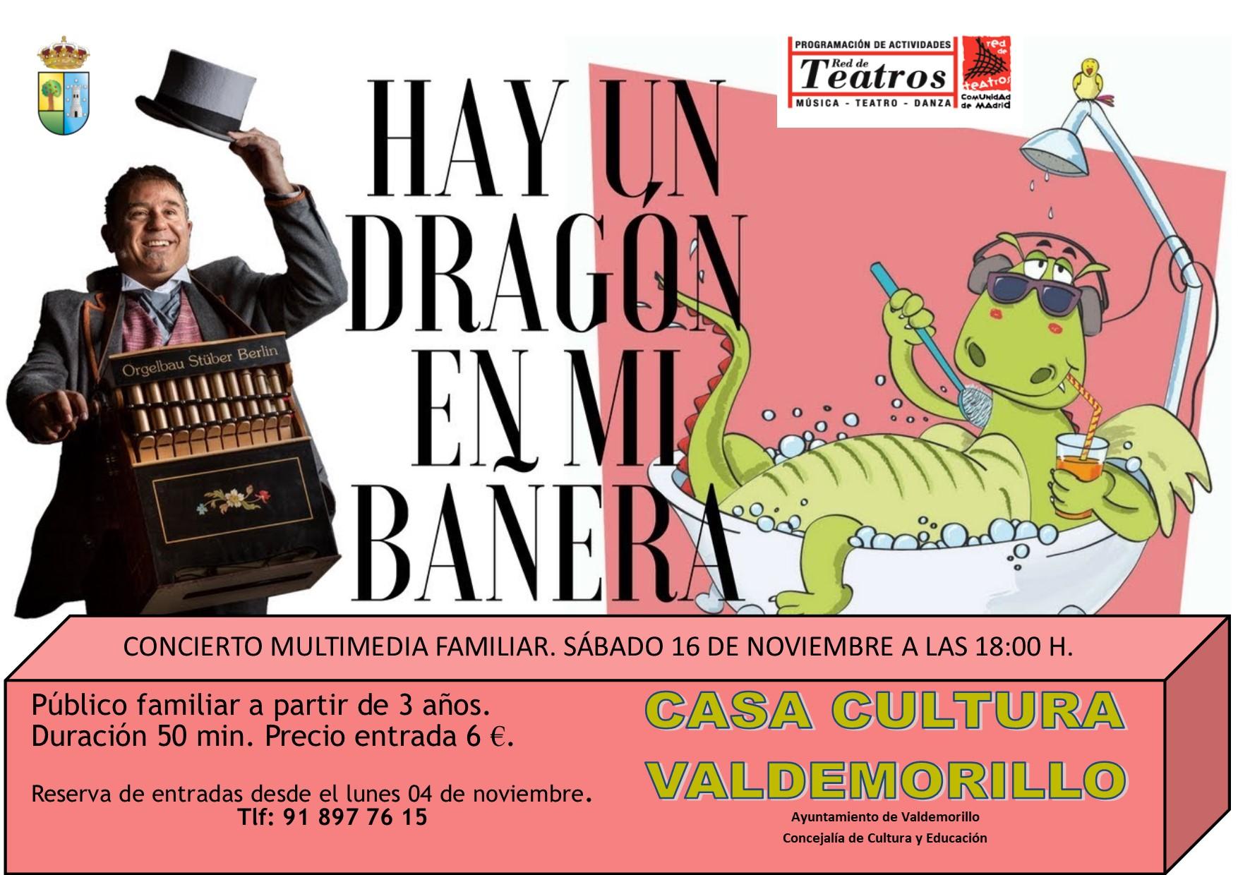 Simpático concierto multimedia familiar,  este sábado 16 de noviembre en la Giralt Laporta