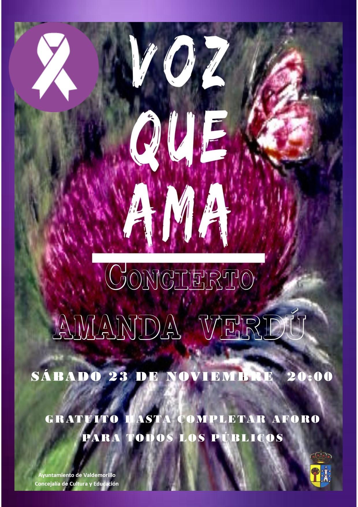 Música y teatro para expresar el firme rechazo  de Valdemorillo a la violencia de género