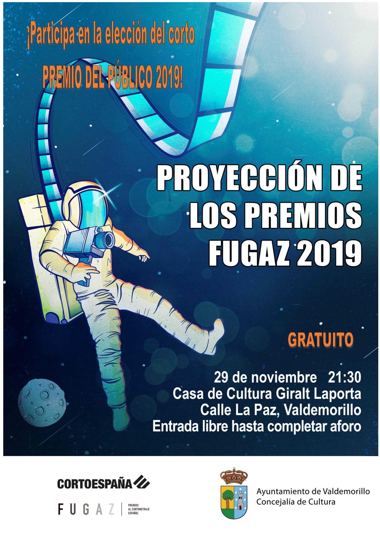 Proyección cortos Premios Fugaz