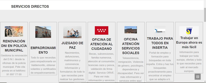 El Ayuntamiento estrena web,  más intuitiva, moderna y accesible.  Todos los servicios, toda la información desde ahora en www.aytovaldemorillo.com