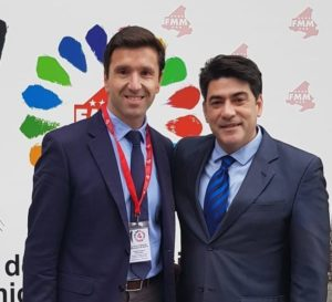 El Alcalde de Valdemorillo, Santiago Villena, nombrado vocal de la Junta de Gobierno de la Federación de Municipios de Madrid