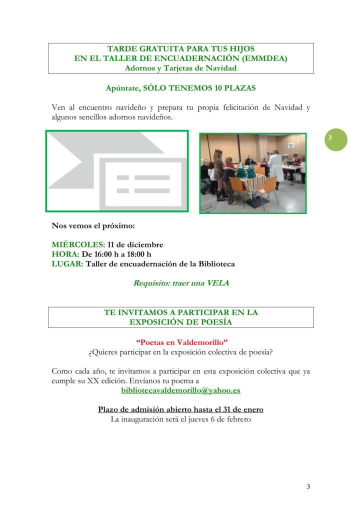 PROGRAMACIÓN DICIEMBRE 19-03