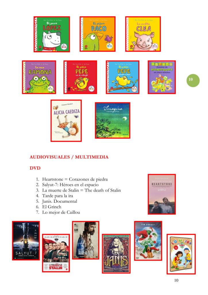 PROGRAMACIÓN DICIEMBRE 19-10