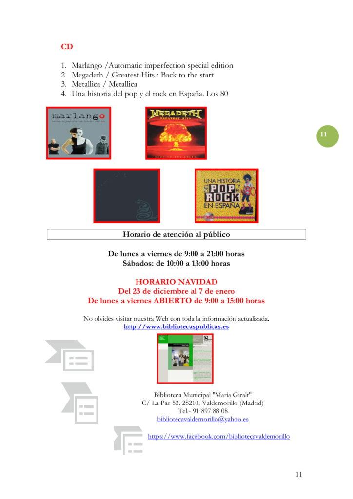 PROGRAMACIÓN DICIEMBRE 19-11