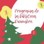 Programa de la Biblioteca Diciembre