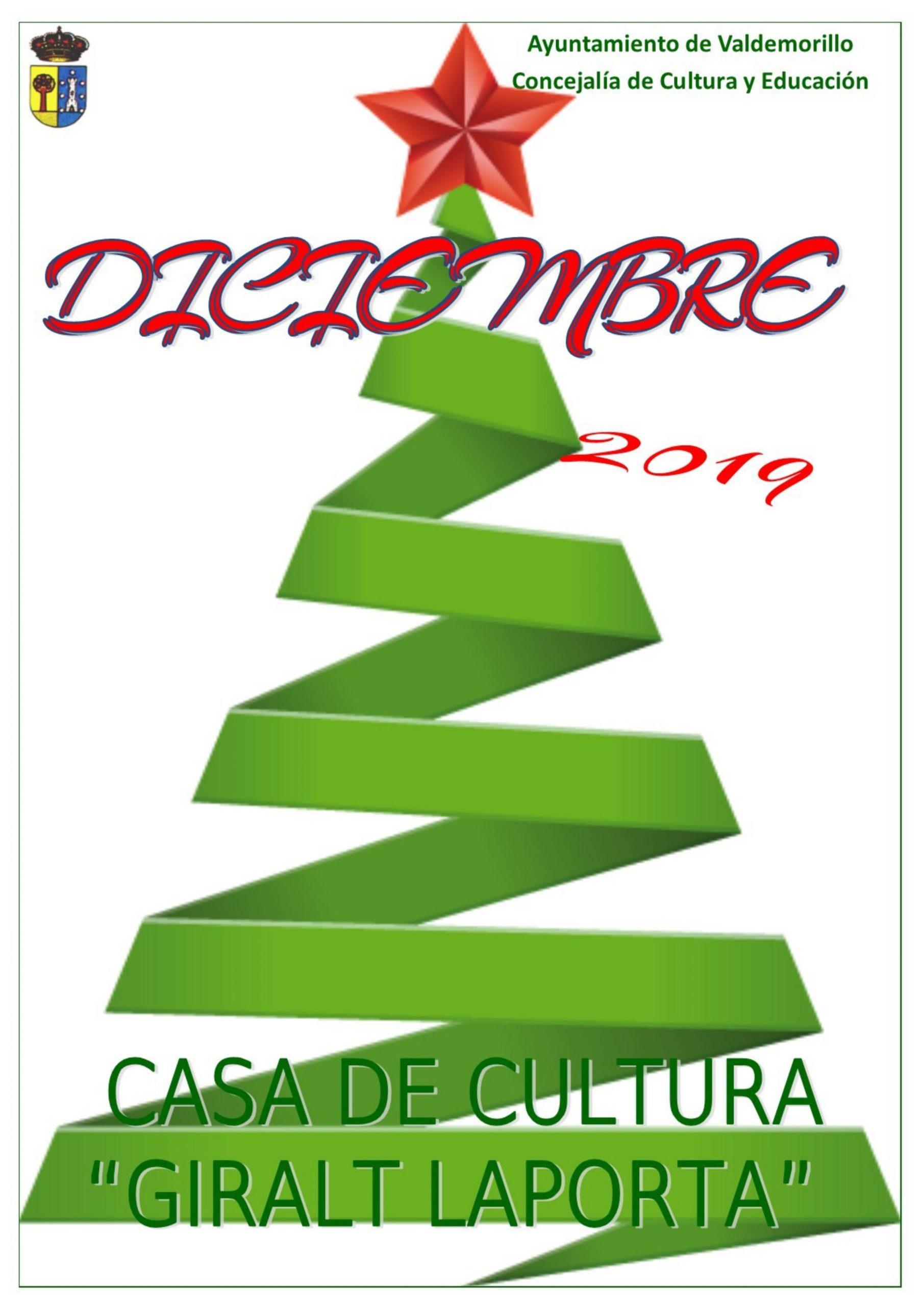 Programa Casa de Cultura Diciembre