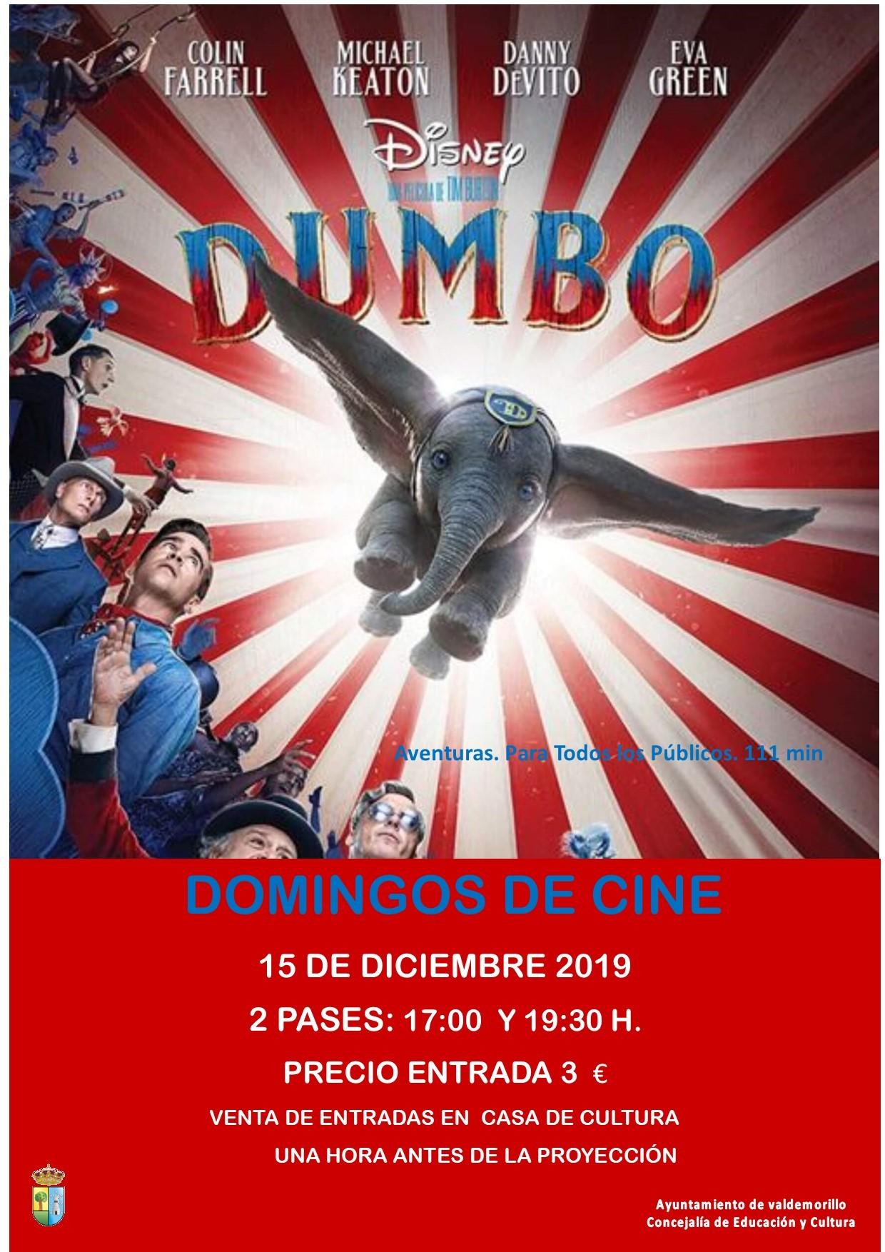 Domingos de cine familiar en Valdemorillo, nueva propuesta de la Concejalía de Educación y Cultura