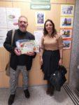 Rafael Garcinuño recoge su premio como autor de la mejor estampa navideña de Valdemorillo  en un emocionante acto con diplomas para todos los participantes en el concurso  que aúna tradición y el toque cada vez más 'original' dado a las distintas instantáneas
