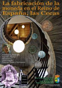 La fabricación de monedas en el reino de España, tema de la nueva conferencia organizada por la Tertulia Literaria La Fuente