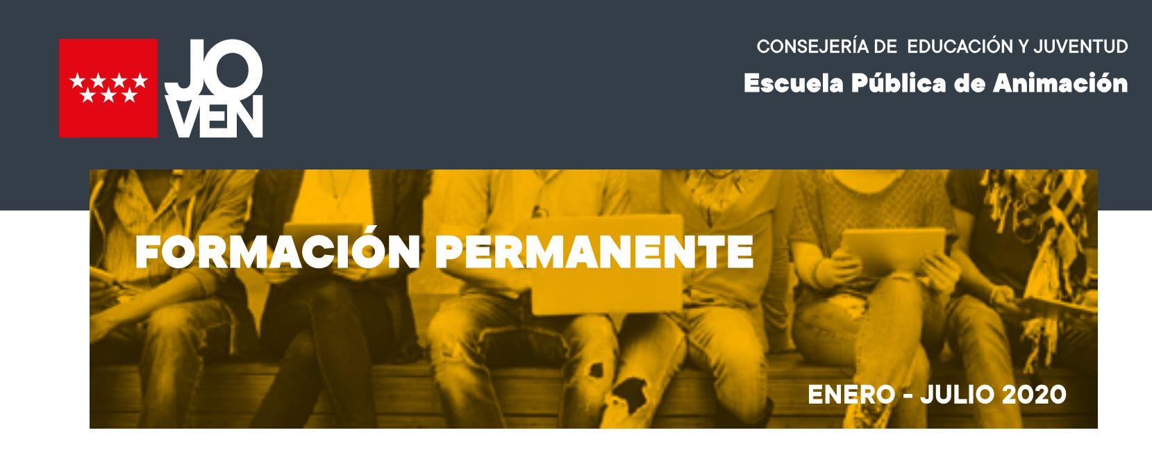 """En su compromiso de ayudar a los jóvenes de Valdemorillo en su mejora curricular y la obtención de empleo, el Ayuntamiento recalca """"la gran utilidad"""" de la Formación Permanente con la que la Comunidad de Madrid oferta numerosos cursos, talleres y jornadas"""