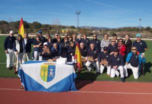 Entregados los trofeos del primer Ranking organizado por el Club de Ground Golf de Valdemorillo.  Al frente de la clasificación,  Ángel Sumillera