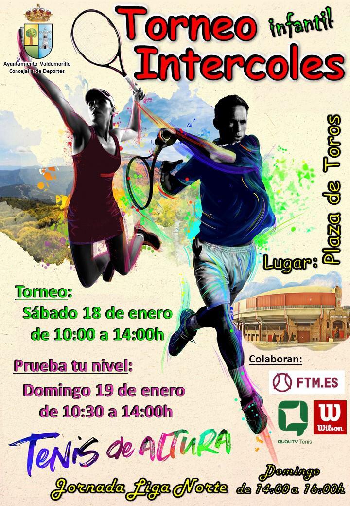 Fin de semana de mucho tenis en la  Plaza de Toros de Valdemorillo con los niños como los grandes protagonistas