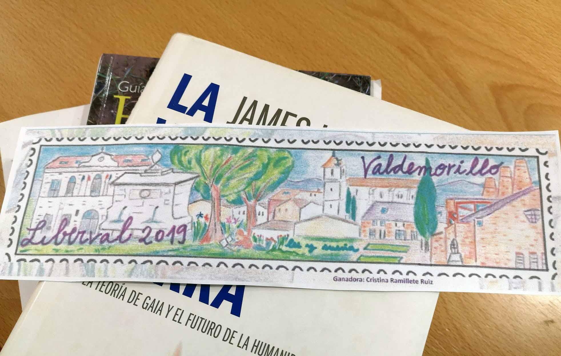 Valdemorillo anima a sus vecinos a crear  el mejor marcapáginas para subrayar su afición por la lectura con LIBERVAL 2020