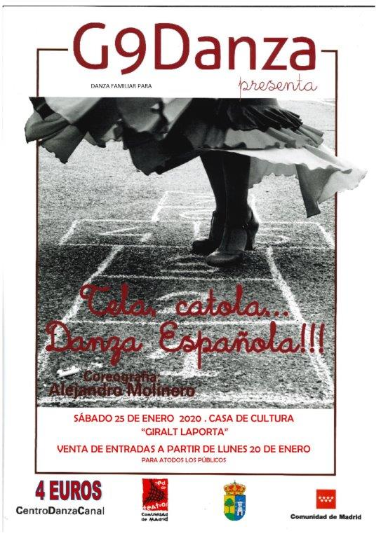 Tela, Catola… Danza Española,  un espectáculo con el baile como lenguaje para recuperar la tradición popular