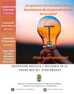 La Concejalía de Servicios a la Comunidad promueve el crecimiento profesional y empresarial de los emprendedores de Valdemorillo y su entorno  presentando un ciclo de charlas-taller para descubrir las tres claves que hacen crecer todo proyecto