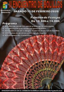 El sábado, 15 de febrero,  Valdemorillo reúne a más de 300 encajeras  en su segundo encuentro de bolillos