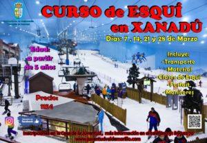 Nuevo curso de esquí en Xanadú  para los niños y jóvenes de Valdemorillo