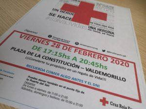 Nueva llamada a las donaciones de sangre en Valdemorillo