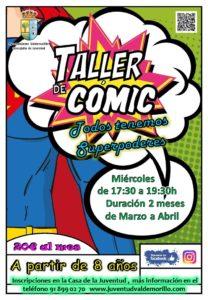 TALLER DE COMIC MARZO Y ABRIL
