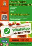 WhatsAppeanos, nuevo servicio para mantener informados a los jóvenes de Valdemorillo  de todos los cursos y demás actividades que organiza la Concejalía de Juventud