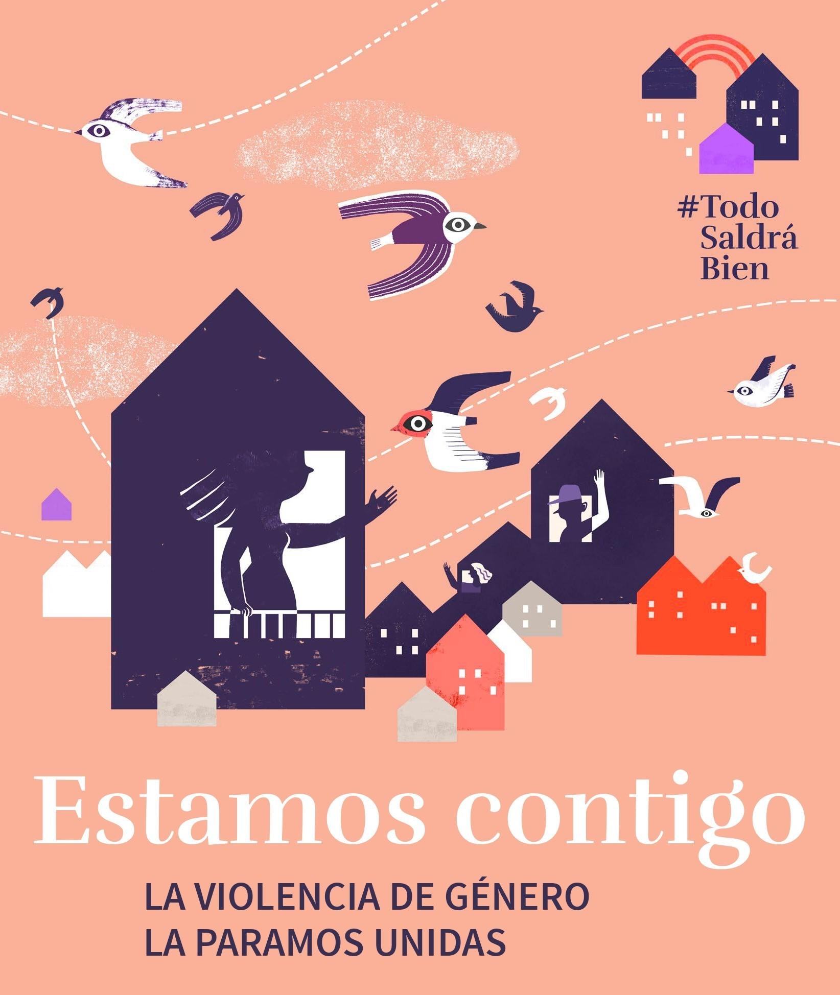 """Las víctimas de violencia de género  """"no están solas"""" pese al confinamiento en sus casas por el estado de alarma sanitaria por coronavirus"""""""
