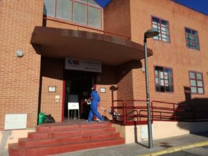 La Concejalía de Limpieza y Medio Ambiente intensifica la esterilización por ozono de  las instalaciones más utilizadas en Valdemorillo,  como Protección Civil, sala de enfermería y Consultorio