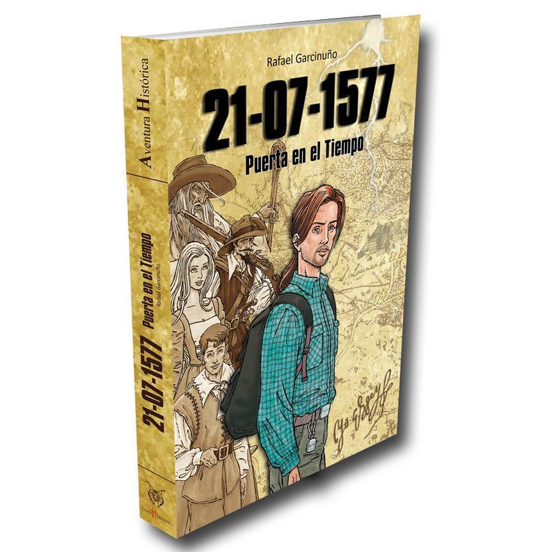 Este 23 de abril  Valdemorillo regala un libro a sus vecinos,  y les acerca una 'Puerta en el tiempo',  novela firmada y donada por Rafael Garcinuño