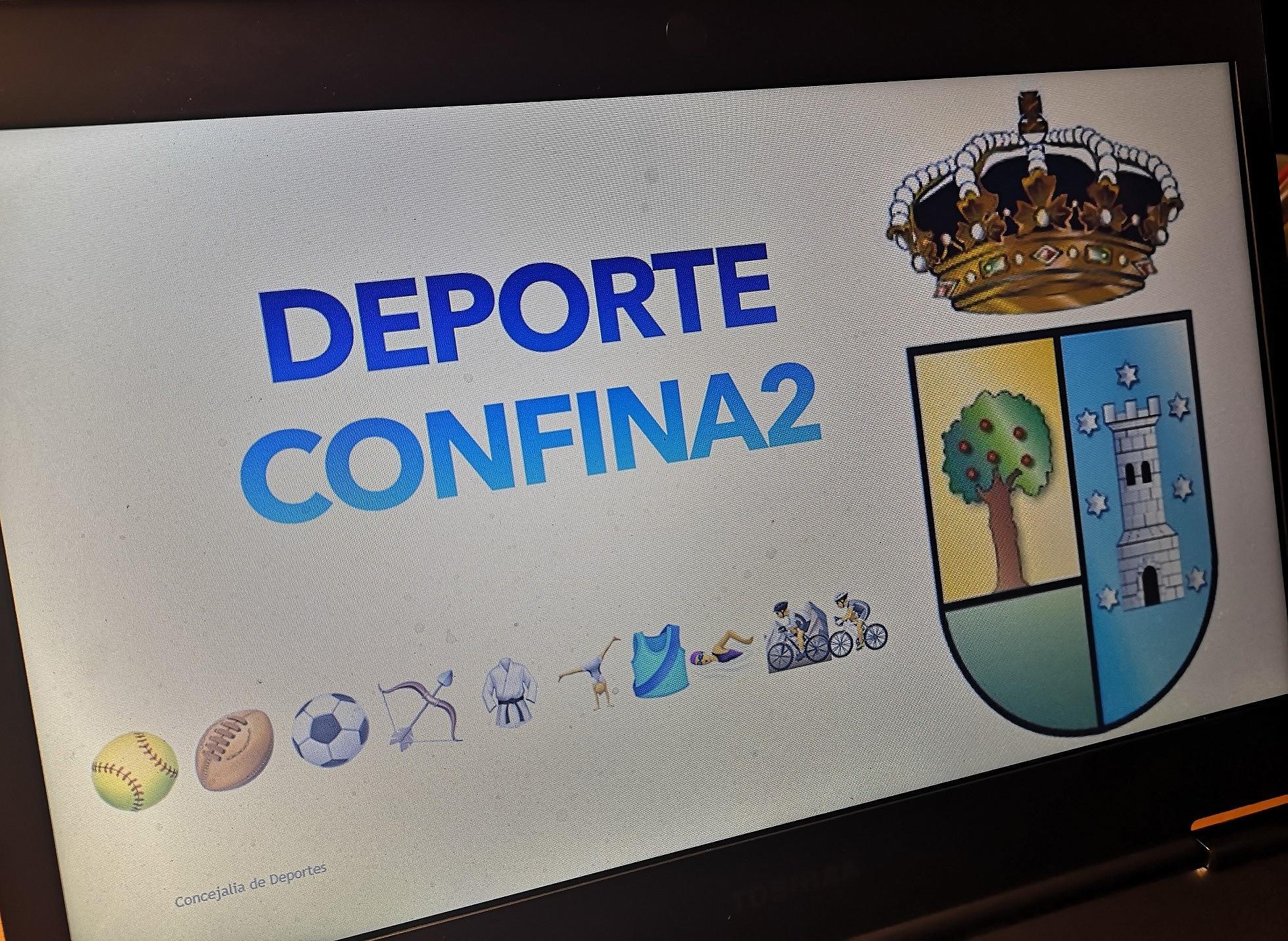 """Valdemorillo presenta Deporte Confina2  y 'lleva' a todos los hogares  la práctica deportiva en sus múltiples opciones """"para que nuestros vecinos disfruten  y se sientan activos y preparados para la vuelta  a la normalidad"""""""