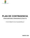 Aprobado el Plan de Contingencia  en Valdemorillo para atender a la crisis sanitaria del COVID-19