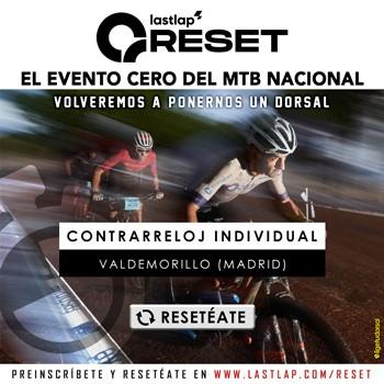 Los bikers ya se RESETean  practicando en casa la cronoescalada individual  de 5,5 km con la que el MTB español echará a rodar  en Valdemorillo terminada la cuarentena