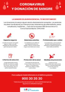 El martes 28 de abril,  la unidad móvil de Cruz Roja espera contar con la respuesta solidaria de Valdemorillo  para salvar vidas gracias a  una nueva campaña de donación de sangre