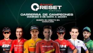 David Valero se alza ganador de la RESET virtual disputada este 3 de mayo  por los siete mejores mountainbikers españoles