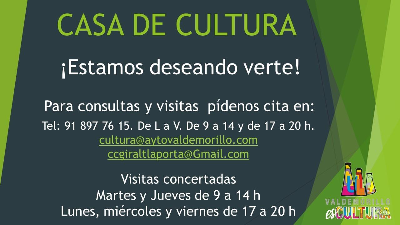 La Giralt Laporta espera sus primeras visitas mientras sigue acercando a todos los hogares clases, espectáculos y demás propuestas en 'cartel'  para una nueva semana de 'Cultura Abierta'