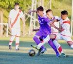"""Raúl Sansegundo,  primer valdemorillense en jugar en Segunda B, """"debemos valorar el pueblo que tenemos,  sus instalaciones y su espectacular campo de fútbol"""""""