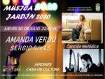 'De Madrid al cielo', este jueves 30 de julio  en la voz de Amanda Verdú y los acordes de la guitarra de Sergio Rivas. Fusión de estilos para el concierto que le pone acento 'castizo' a la Música en el Jardín