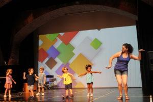 Más de 70 vivendis ya han disfrutado de la experiencia a su paso por la primera semana de  la Escuela de Verano de Artes Escénicas y Plásticas  de Valdemorillo