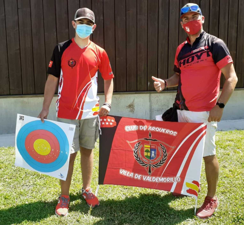 Gran puntuación de los arqueros de Valdemorillo Miguel Rubio y Carlos Trillo  en el Gran Premio Villa de Madrid