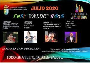 Festi 'Valde' Risas, cuentos y el mejor humor para disfrutar del fin de semana en Valdemorillo.