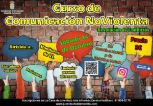 La concejalía de Juventud responde a  la gran expectación que despierta su agenda formativa  y la amplía con un curso de comunicación no violenta orientado a los profesionales de la educación