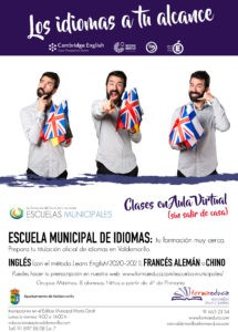 La Escuela Municipal de Idiomas apuesta este curso por las clases en aula virtual