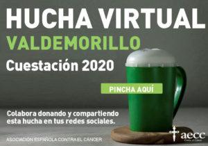 Este 23 de septiembre, Valdemorillo tiende su hucha virtual para llenarla  con los donativos que ayuden en su labor a la Asociación Española contra el Cáncer