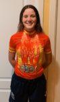 Un oro, dos platas y un bronce,  impresionante exhibición de la valdemorillense Adriana San Román en el  Campeonato de España de Ciclismo en Pista