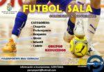 El fútbol sala vuelve a ponerse en juego  en Valdemorillo, ahora con grupos reducidos