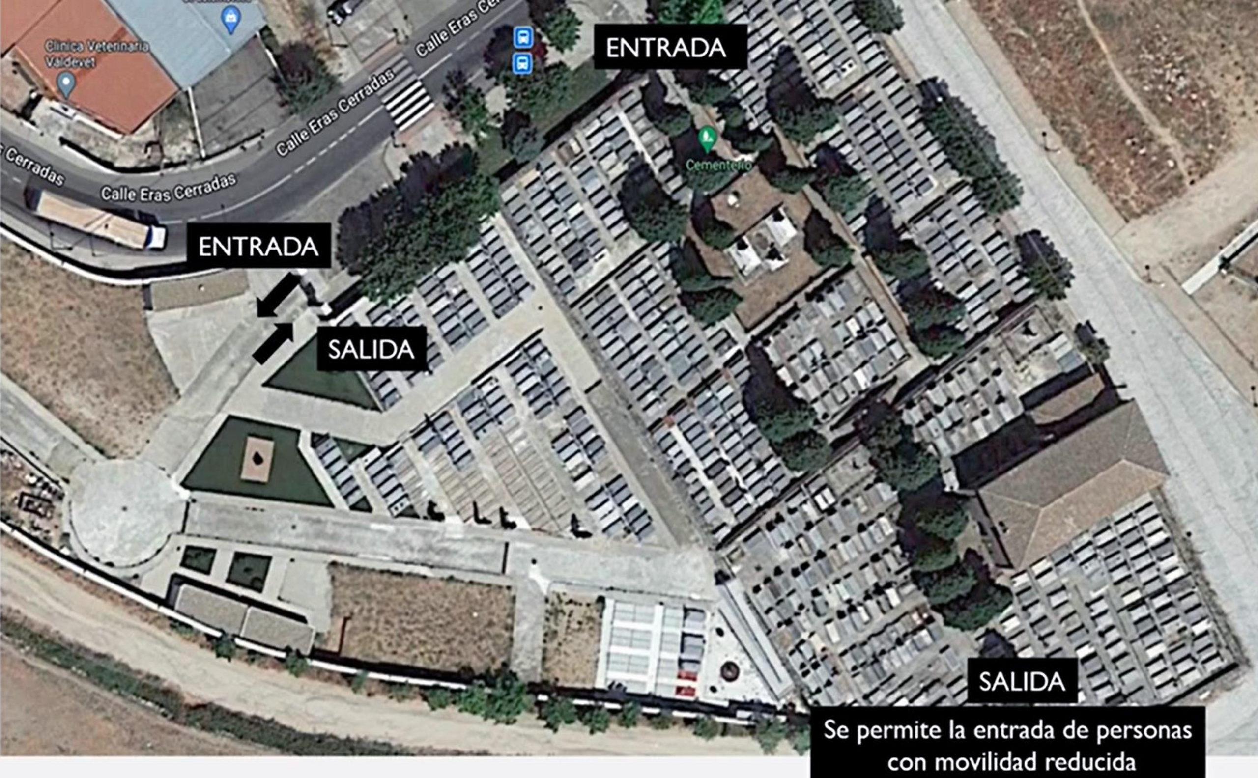 Amplio dispositivo de seguridad en Valdemorillo para garantizar la máxima protección de los vecinos en sus visitas al cementerio con motivo de la festividad de Todos los Santos