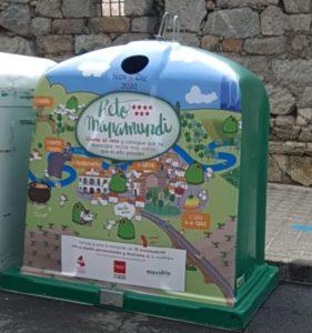 Valdemorillo se apunta a ganar el Reto Mapamundi aumentando el reciclaje de envases de vidrio en un 10%