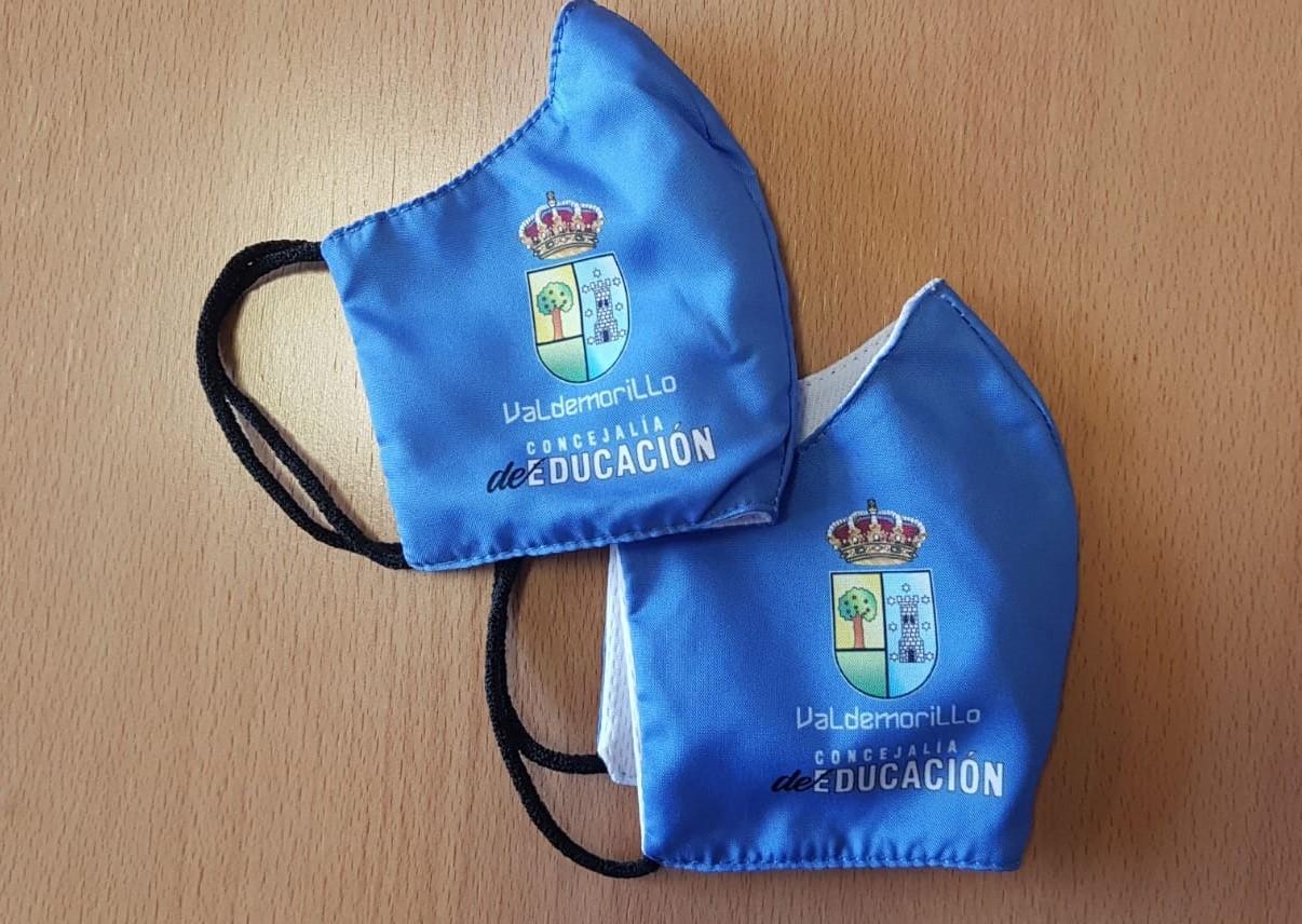 Nueva entrega de mascarillas reutilizables en Valdemorillo, ahora para todos los menores de 0 a 6 años  empadronados en el municipio