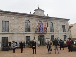 Valdemorillo muestra su rechazo a la violencia de género y rinde homenaje a las víctimas en este 25 de noviembre