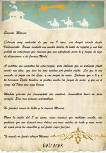 Los Reyes Magos ya han contestado las cartas enviadas  por cerca de 200 niños de Valdemorillo para hacerles llegar todas sus peticiones y deseos