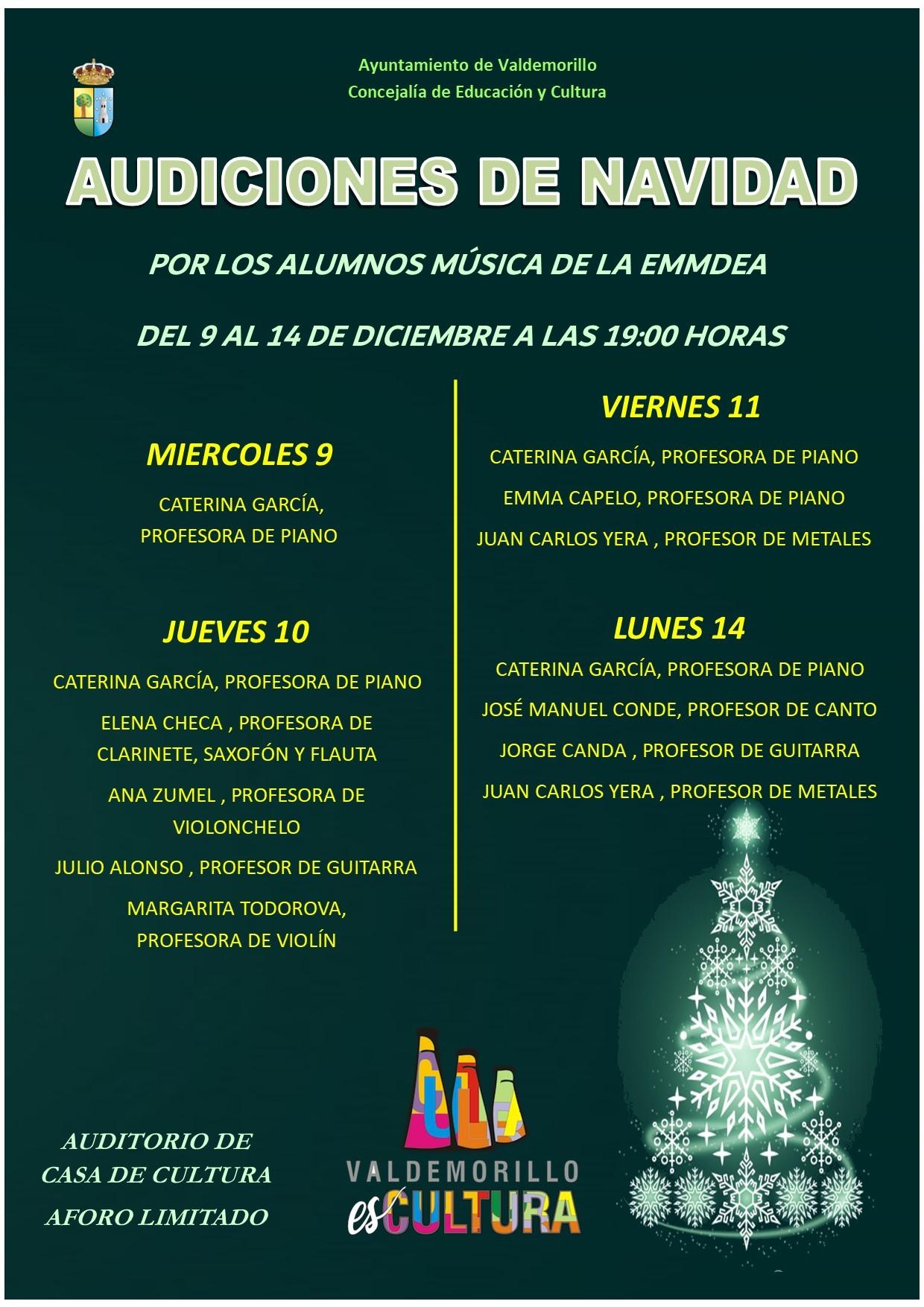 Minifestivales de música y danza y el concierto 'A villa voz' interpretado por el coro de la Comunidad de Madrid, protagonistas de la programación de Navidad